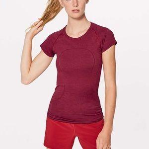 Swiftly Tech Short Sleeve Scarlet Red 12 Lululemon